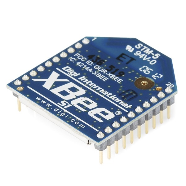 XBee Module - Series 1 - 1mW with PCB Antenna - XB24-API-001