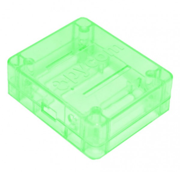 PyCase Green Enclosure for WiPy