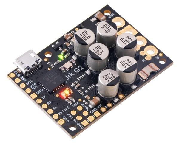 Pololu Jrk G2 24v21 USB Motorsteuerung mit Feedback