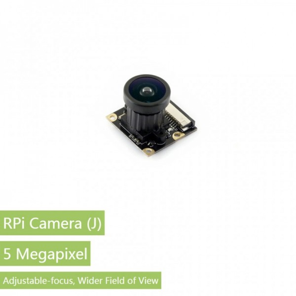 Waveshare RPi Camera (J), Fisheye Lens