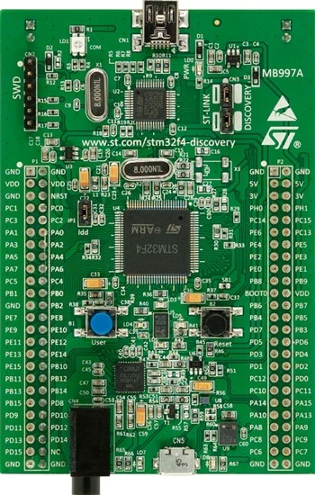 STM32F4Discovery Discovery Kit with STM32F407VG MCU