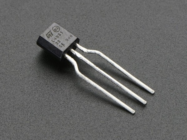 3.3V 250mA Linear Voltage Regulator - L4931-3.3 TO-92