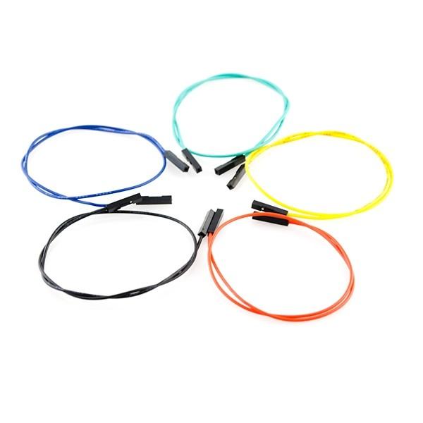 Jumper Wires Premium 300mm F/F (10er Pack)