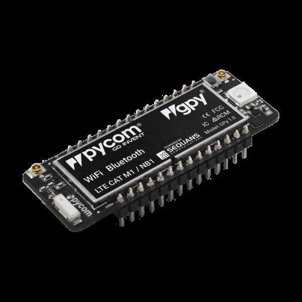 Pycom GPy (LTE + WiFi + BLE) Dev Board