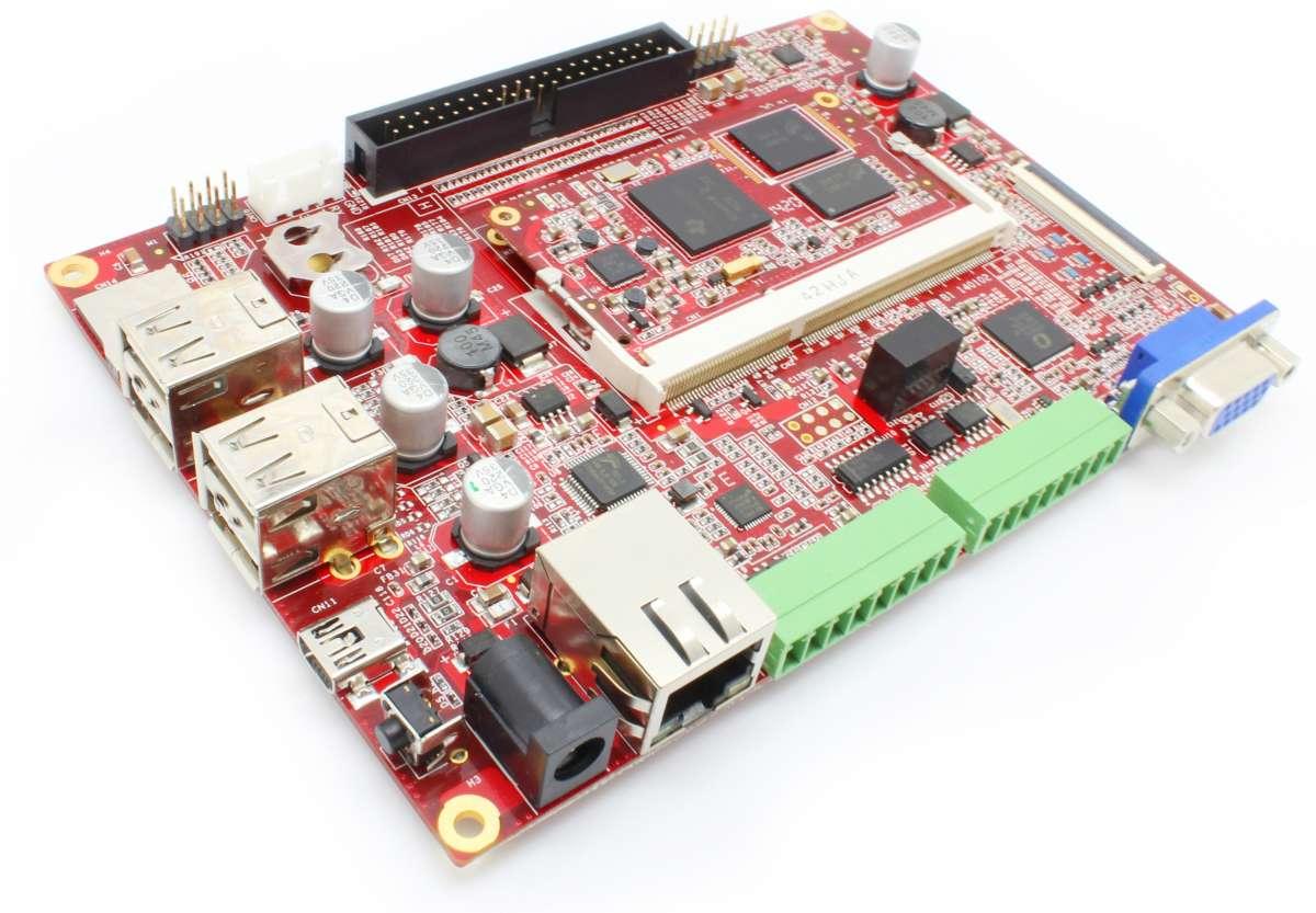 SBC3358ACW-B1A TI Sitara AM3358 ARM Cortex-A8 Single Board