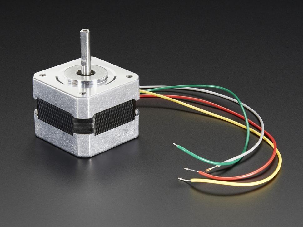 Schrittmotor - NEMA-17 200 Schritte / Umdrehung, 12V 350mA | EXP Tech