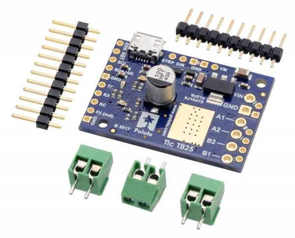 Pololu Tic T825 USB Multi-Interface Schrittmotor-Treiber