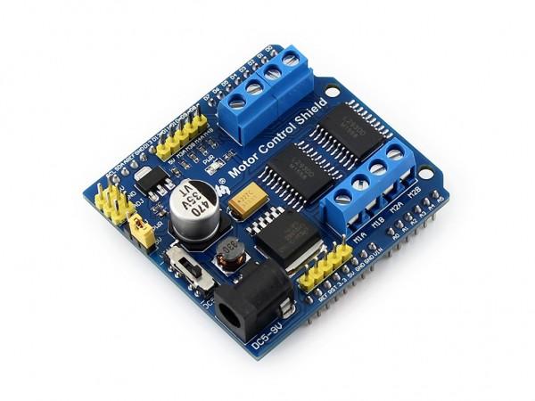 Motorsteuerung für Arduino L293D (Motor Control Shield)