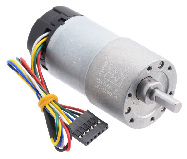 131:1 Metal Gearmotor 37Dx73L mm with Encoder