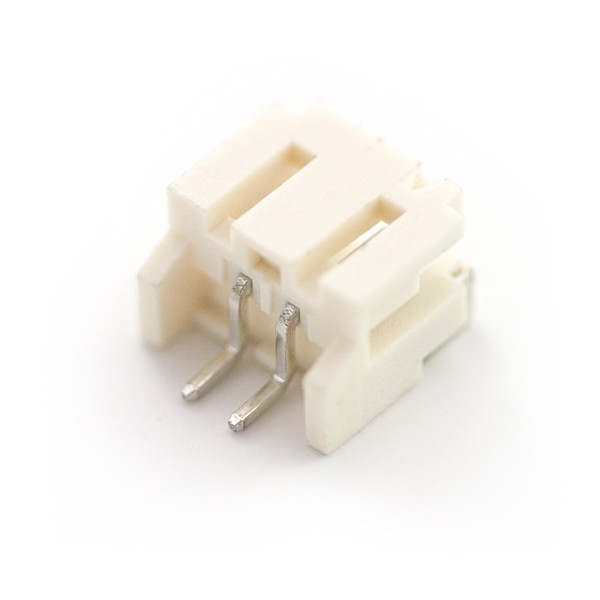 JST Right Angle Connector - Weiß