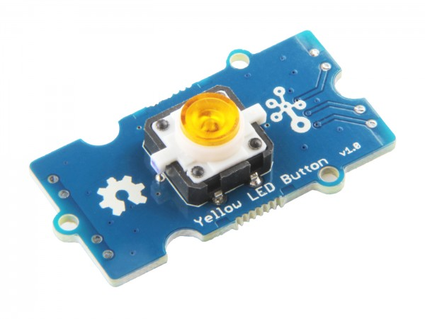 Seeed Studio Grove - Yellow LED Button
