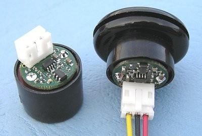 SRF01 the World's Smallest Single Transducer Ultrasonic Ranger