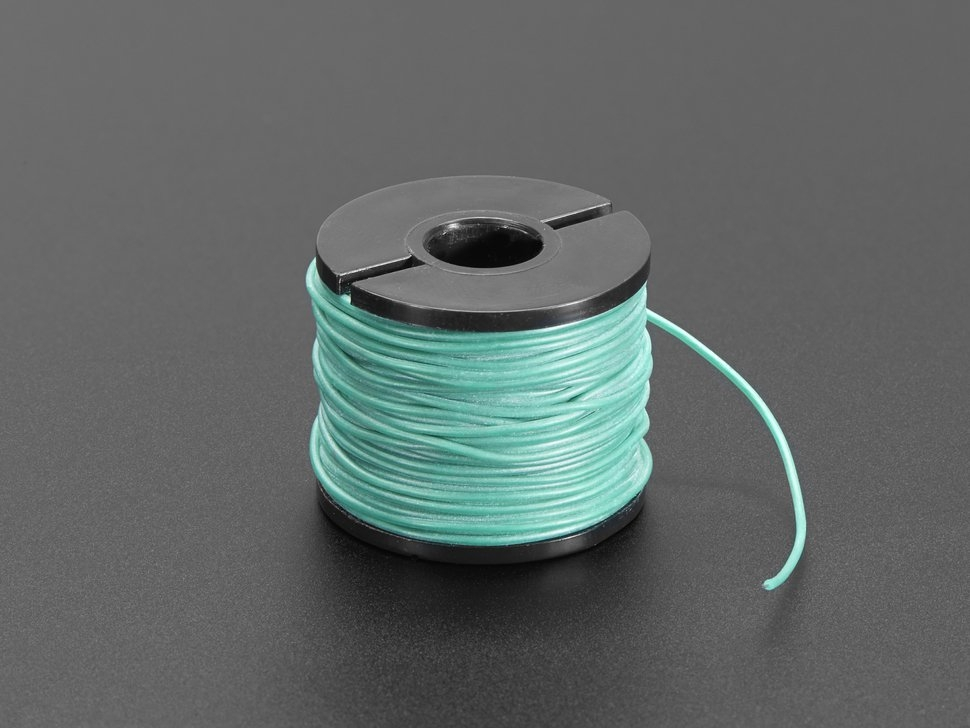 Silikon-isolierter Draht (15 m, 30 AWG, grün) | Litzendrähte ...