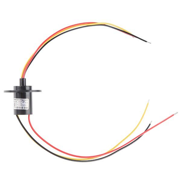 Slip Ring - Schleifring mit 3 Drähten (10A)