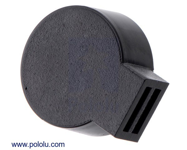 9mm Electromagnetic Buzzer: 30 Ohm, 3-7V, Side Opening