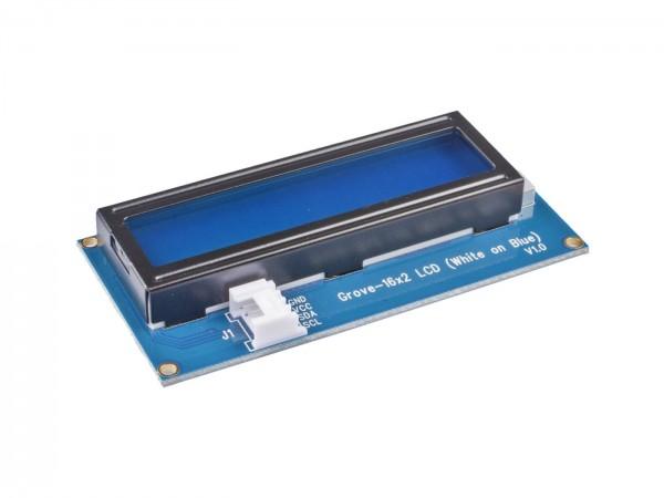 Seeed Studio Grove - 16 x 2 LCD-Display (weiß auf blau)