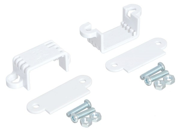 Pololu Mini Plastic Gearmotor Bracket Pair - Wide