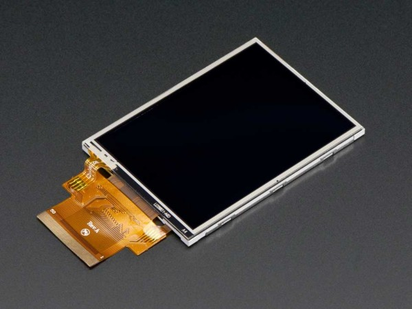 "2.8"" TFT Display with Resistive Touchscreen"