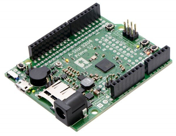 Pololu A-Star 32U4 Prime SV microSD