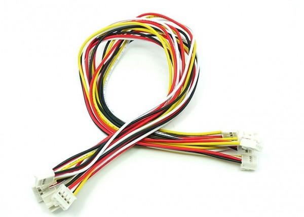 Seeed Studio Grove - Universal 4 Pin Buckled 30cm Kabel (5 Stück)