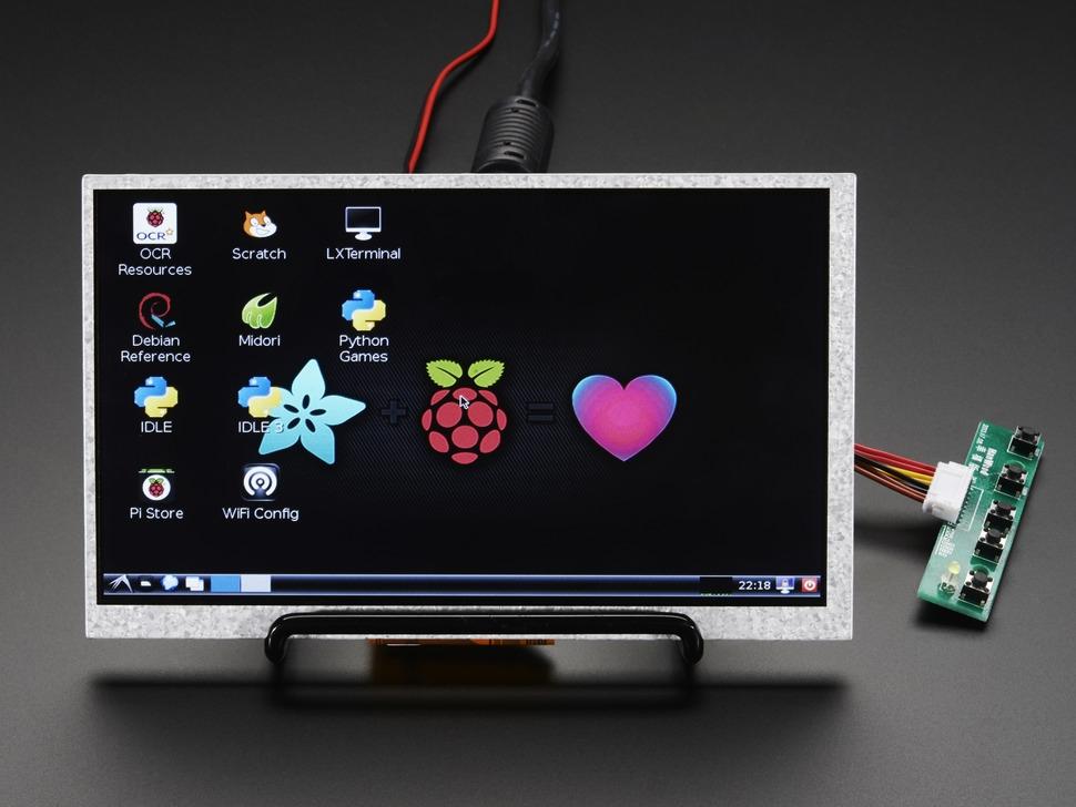 hdmi 4 pi 7 display no touch w mini driver 800x480. Black Bedroom Furniture Sets. Home Design Ideas