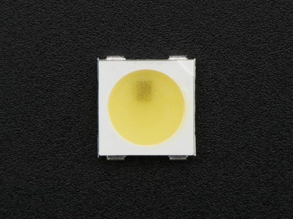SK6812-BW Cool White LED w/ Integrated Driver Chip - 10 Pack - ~6000K