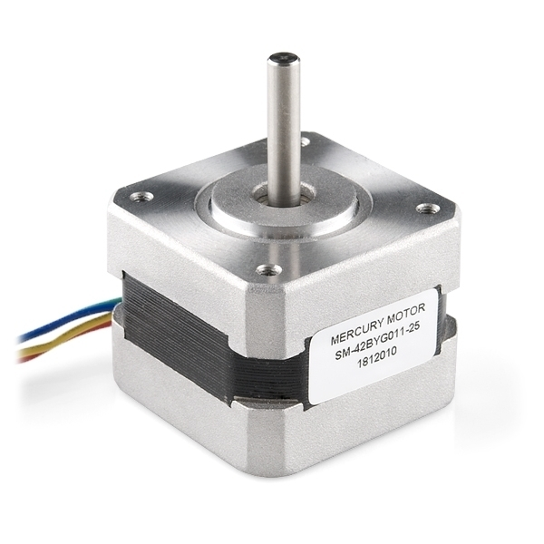 Nema 17 stepper motor sm 42byg011 25 stepper motors for Nema 17 motor specs