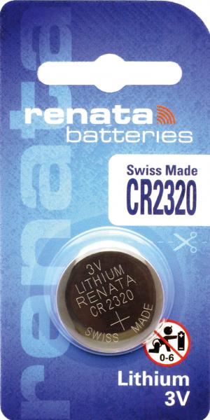 renata CR2320 3V Lithium Knopfzelle