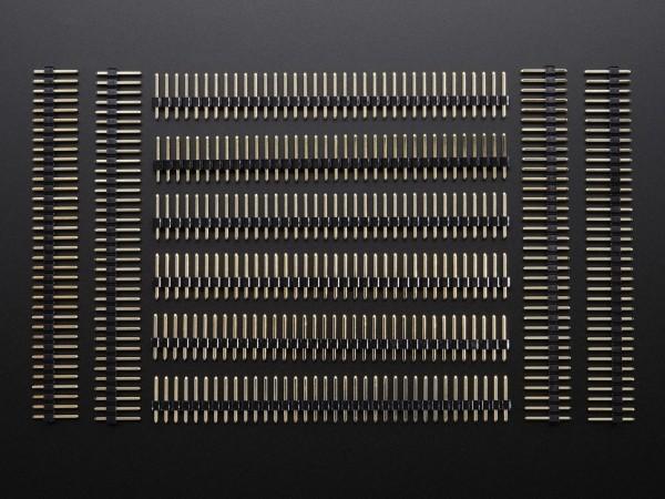 "Break-away 0.1"" 36-pin strip male header (10 pieces)"