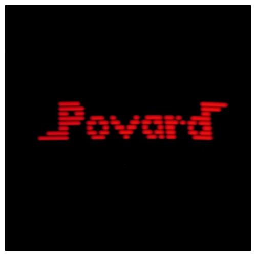 Povard (Red LEDs - Black Bezel) - Kit