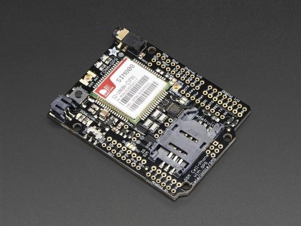 Adafruit FONA 808 Shield - Mini Cellular GSM + GPS for Arduino