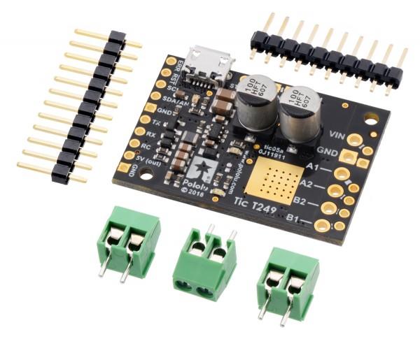 Pololu Tic T249 USB-Multi-Interface-Schrittmotorsteuerung
