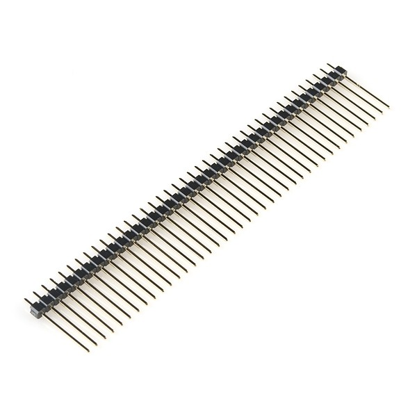 1x40 pin Break Away Headers - Long (5-Pack)