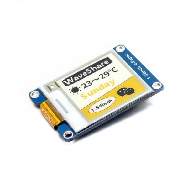 Waveshare 1.54 Inch E-Ink Display Modul 152x152 (gelb, schwarz, weiß)