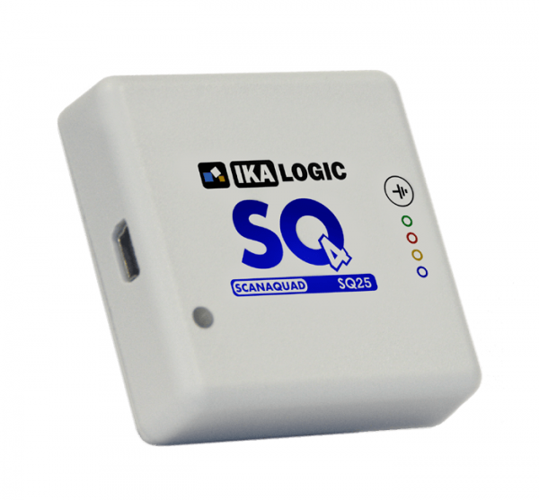 ScanaQuad SQ25 4 Channels Logic Analyzer & Digitaler Mustergenerator