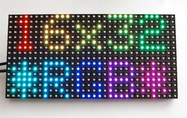 Adafruit Medium 16x32 RGB LED matrix panel