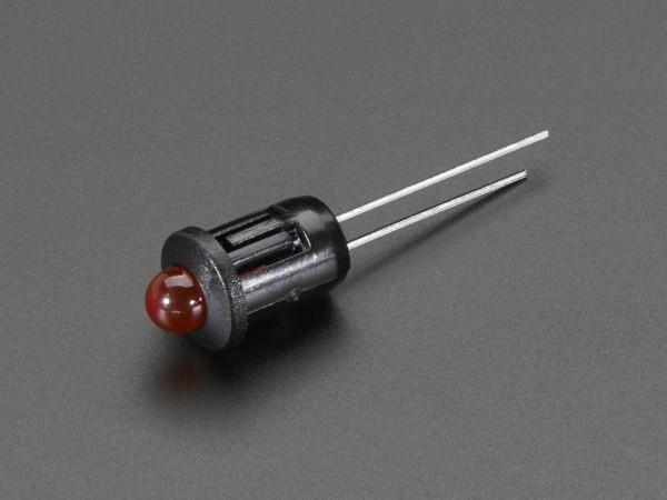 5mm Plastic Bevel LED Holder - Pack of 5