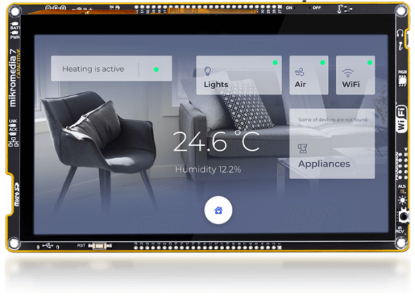 Mikromedia 7 CAPACITIVE Smart Display