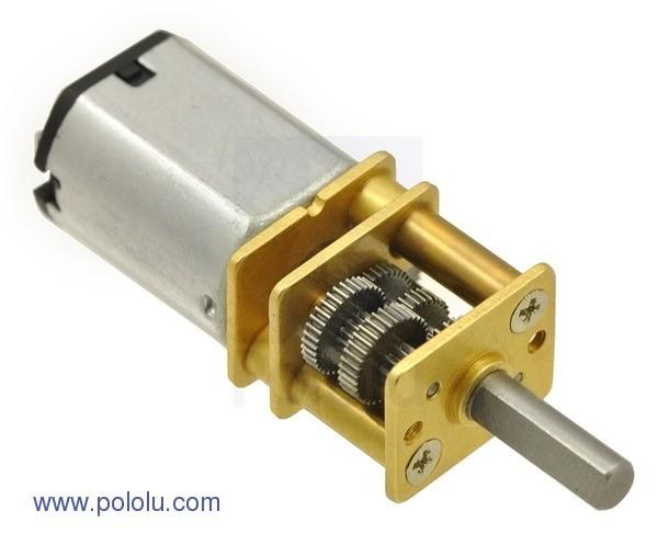 1000:1 High Power Micro Metall Getriebemotor