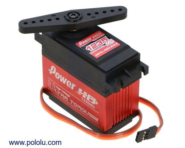 Power HD Ultra-High-Torque, High-Voltage Digital Giant Servo HD-1235MG