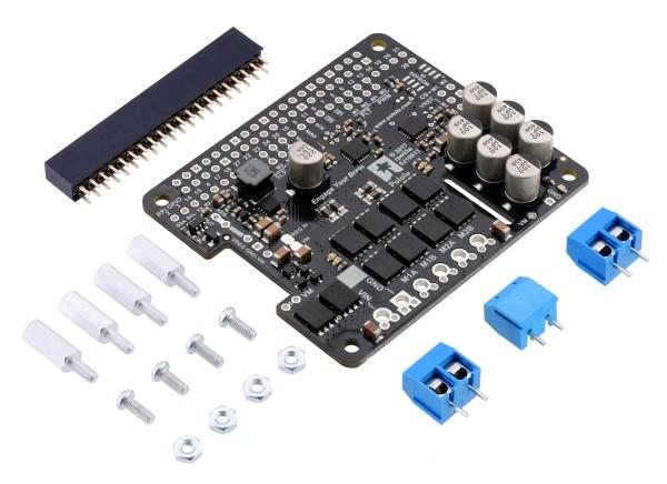 Pololu Dual G2 High-Power Motortreiber 24v18 für Raspberry Pi (Kit)