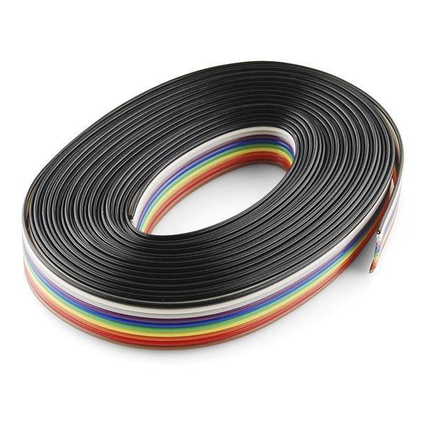 10 poliges flachbandkabel 460cm sonstige kabel. Black Bedroom Furniture Sets. Home Design Ideas