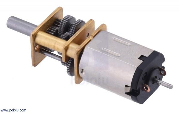 30:1 Micro Getriebemotor HPCB 6V mit verlängertem Schaft