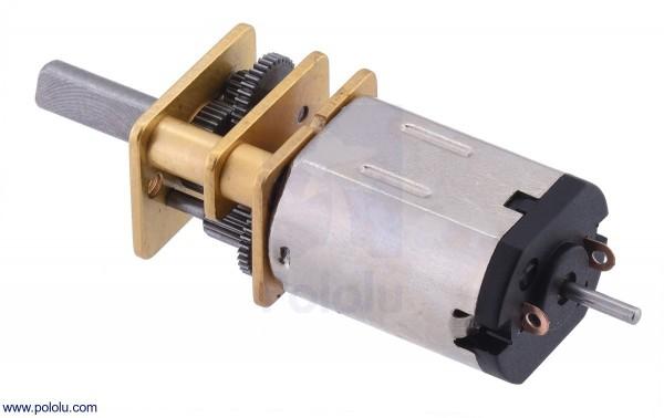 100:1 Micro Getriebemotor HPCB mit verlängertem Schaft