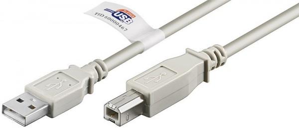 USB Cable 2.0 A-Plug to B-Plug 1.8m