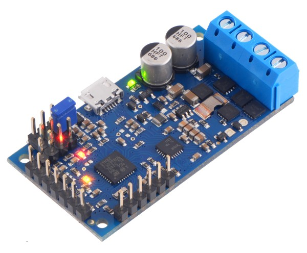 Pololu High-Power Simple Motor Controller G2 24v12 (Connectors Soldered)
