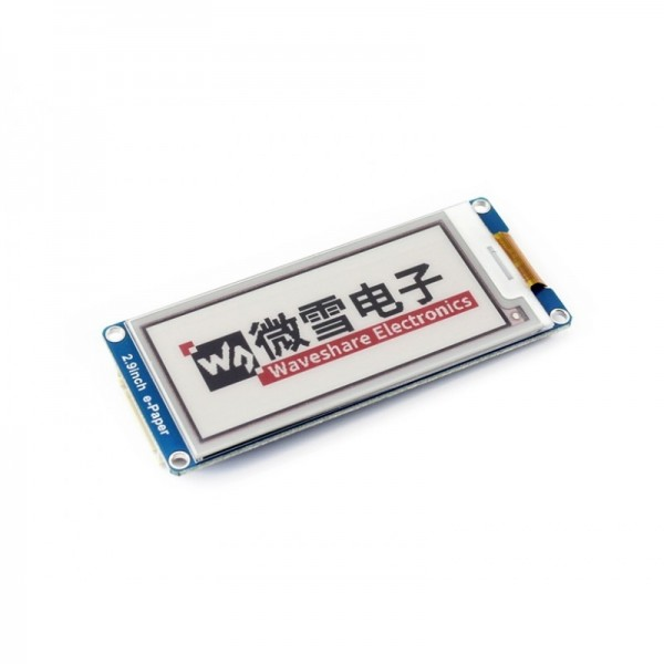 296x128, 2.9inch E-Ink display module, three-color