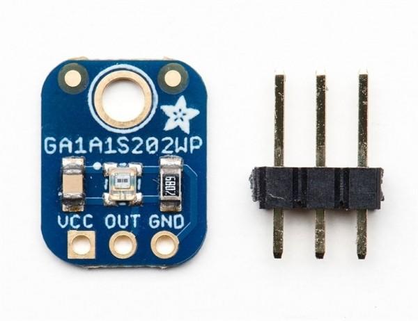 Adafruit GA1A12S202 Log-scale Analog Light Sensor