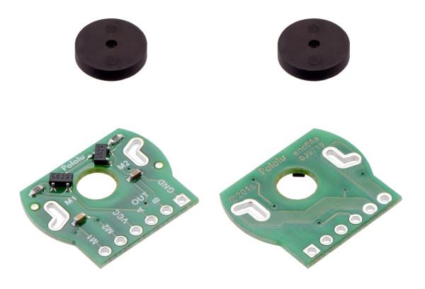 Magnetic Encoder Pair Kit für 20D mm Metall-Getriebemotor, 20 CPR, 2.7-18 V