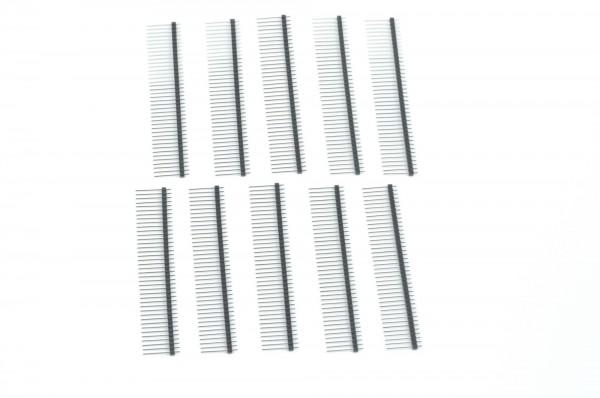 1x40 pin Break Away Headers - Long 10-Pack